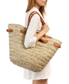 Sun N Sand Hatteras Oversized Shopper Straw Tote Beach Bag