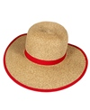 Sun N Sand French Laundry Ribbon Trim Straw Hat