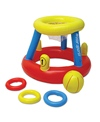 Poolmaster Water Basketball with Ring Toss Game