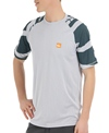 Quiksilver Waterman's Pacific Short Sleeve Relaxed Fit Bamboo Mesh Surf Shirt