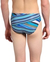 Speedo Rainbow Stripe Brief Swimsuit