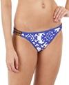 Tommy Bahama Swimwear Medallion Beaded Bikini Bottom