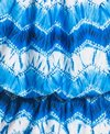 a31b827599 Eco Swim Zig Zag Tie Dye Gathered Tankini Bikini Top at SwimOutlet ...