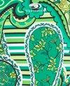 Blue Seventy Girls' Paisley Lotus Open Back Swimsuit