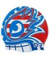 TYR USA The Masked Liberator Swim Cap