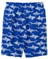 Jump N Splash Boy's Shiver Shark Swim Trunk w/ Free Goggles (4yrs-14yrs)