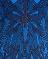 Dolfin Aquashape Zip-Front Racerback Print One Piece Swimsuit