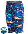 TYR Men's Avictor Omaha Nights High Waist Jammer Tech Suit Swimsuit