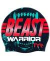 TYR Beast Warrior Silicone Swim Cap