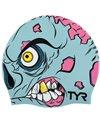 TYR Zombie Silicone Swim Cap