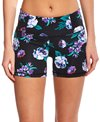 Body Glove Active Women's Floral Print Get Shorty Fitness Short