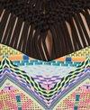 Hobie Swimwear Desert Daze Macrame High Neck Bikini Top