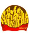Sporti Fries Silicone Swim Cap