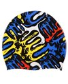 Sporti Mondrian Silicone Swim Cap
