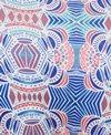 Roxy Print Strappy Love Reversible Athletic Triangle Bikini Top