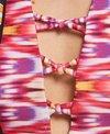 Raisins Around The World Newport High Neck Bikini Top