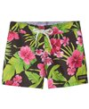 Tidepools Girls' Hibiscus Boardshort (Toddler, Little Kid, Big Kid)