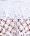 Kenneth Cole Reaction Rainbow Connection Off Shoulder Bandeau Bikini Top