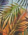 Rappi Sunset Palms Vivid Cocoon Jacket
