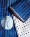 YogiToes Diamond rSkidless Yoga Mat Towel