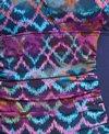 Dolfin Aquashape Women's Plus Size Morocco Shirred Chlorine Resistant One Piece Swimsuit