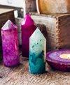 SoulMakes Agate Pillar Point Yoga Crystals