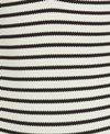 Blue Life Swimwear Jacquard Stripe Roped Up One Piece Swimsuit