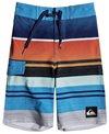 Quiksilver Boys' Everyday Stripe Vee Boardshort (Little Kid)