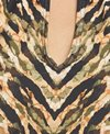 Carmen Marc Valvo Reflections High Neck Bikini Top