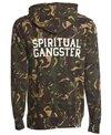 Spiritual Gangster Men's SG Varsity Zip Hood Fleece