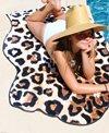 Round Towel Company The Longboarding Leopard Towel
