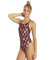 Sporti Spiffiez Donut Thin Strap One Piece Swimsuit
