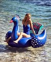 SunnyLife Ride-On Peacock Pool Float