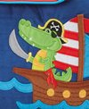 Stephen Joseph Kids' Alligator/ Pirate Quilted Backpack