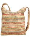 Sun N Sand Women's Poly Straw Cross Body