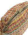 Sun N Sand Women's Poly Straw Clutch