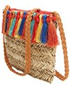 Sun N Sand Women's Straw Crossbody