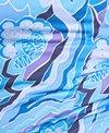 Dolfin Aquashape Women's Plus Size Iris Blue Color Block Swimdress
