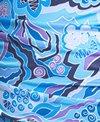 Dolfin Aquashape Women's Plus Size Iris Blue Shirred One Piece Swimsuit
