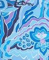 Dolfin Aquashape Women's Iris Blue Color Block Swimdress