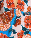 Bikini Lab Spanish Bloom Plunge One Piece Swimsuit