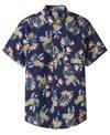 Catch Surf Men's Louie Short Sleeve Woven Shirt