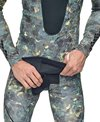 Seac USA Men's Pirana Two Piece Camo Hooded Wetsuit
