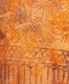 Batik Bali Orange Mini Sarong