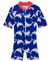 Platypus Australia Boys' Dolphin Watch Short Sleeve Sunsuit (Baby)