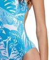 Speedo Women's Turnz Printed One Back One Piece Swimsuit