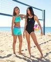 Nike Girls' Racerback One Piece Swimsuit (Big Kid)