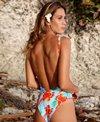 Akela Surf Reversible SoupBowl Plunge One Piece Swimsuit