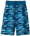 Speedo Boys' Crush It Camo Comfort Liner Volley Swim Short (Big Kid)