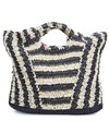 Billabong Talk To The Palm Straw Tote